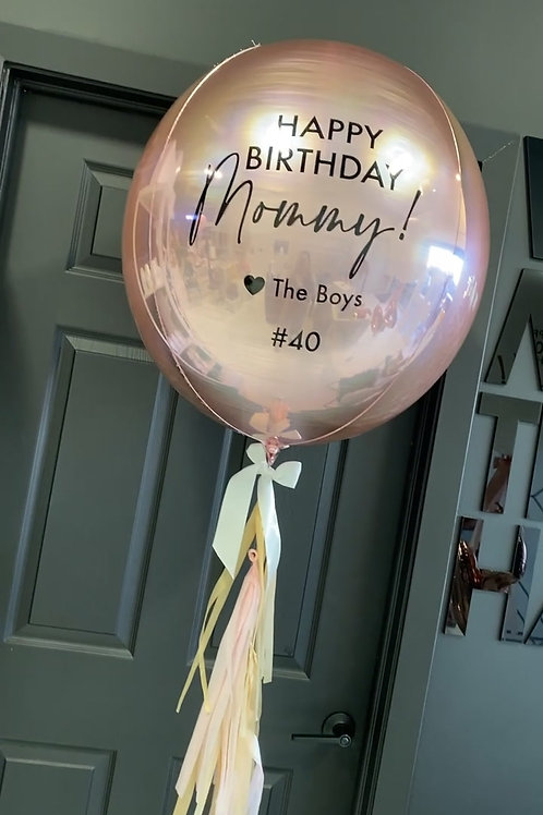 """30"""" ORBZ - Round Balloon"""