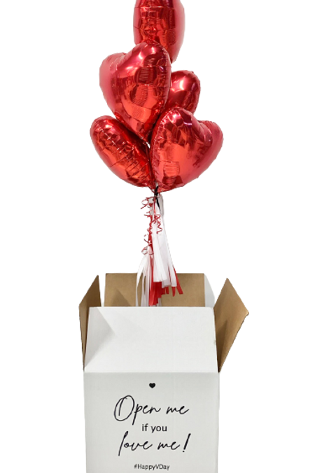 Surprise Balloon in a Box