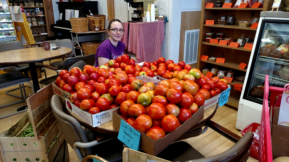 Tomatoes out to Market