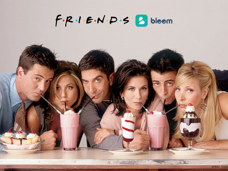 Friends characters get personalized therapy plans