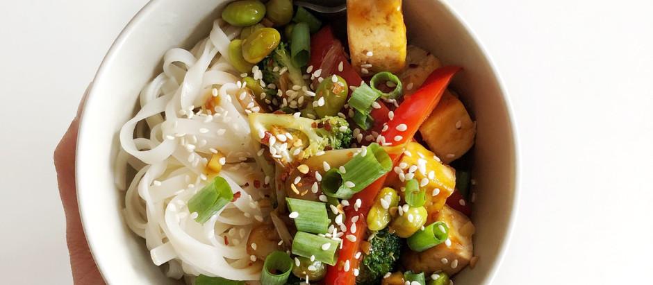 The BEST Veggie and Tofu Stir-Fry