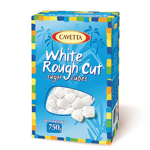 Cukier biały w kostkach łamanych pakowanych luzem 750g