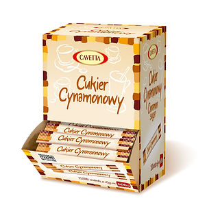 Cinnamon sugar in sachets