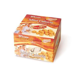 Cukier trzcinowy w kostkach regularnych układanych MINI CALORIA 275g