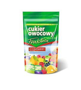 Cukier owocowy fruktoza doypack 250g