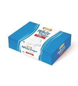 Cukier białyw kostkach regularnych układanych 1000g