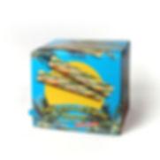 Cukier trzcinowy w saszetkach w dyspenserze 100 sztuk