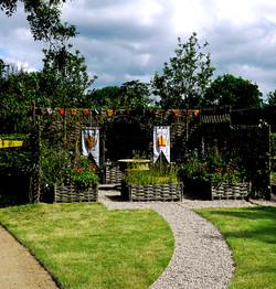 Magna Carta garden relocation