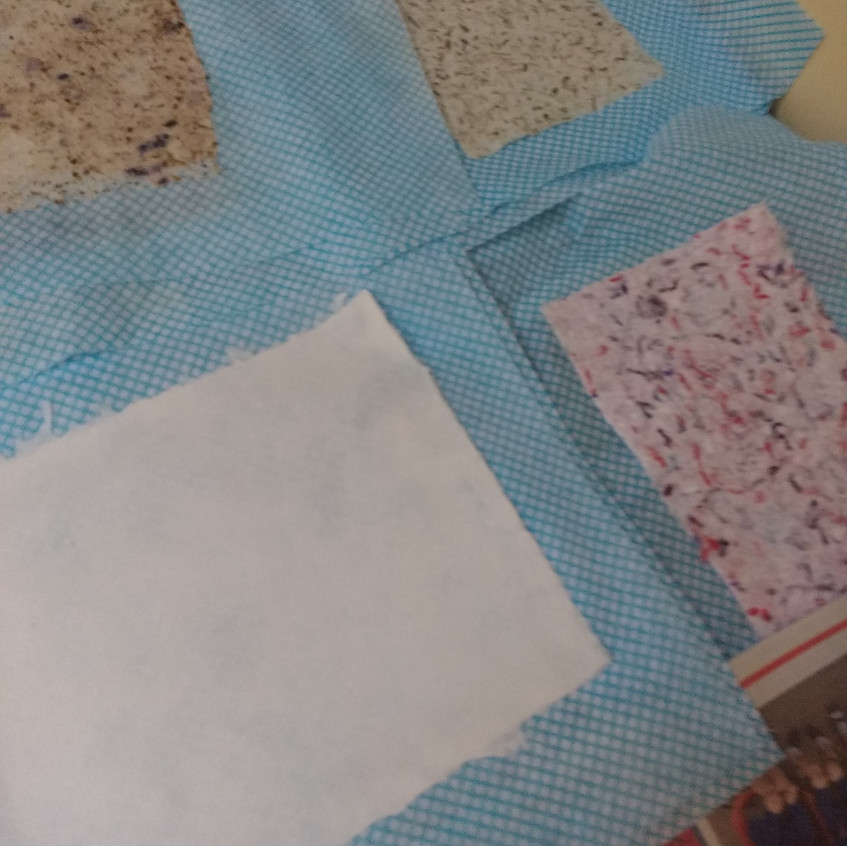 P Papermaking details