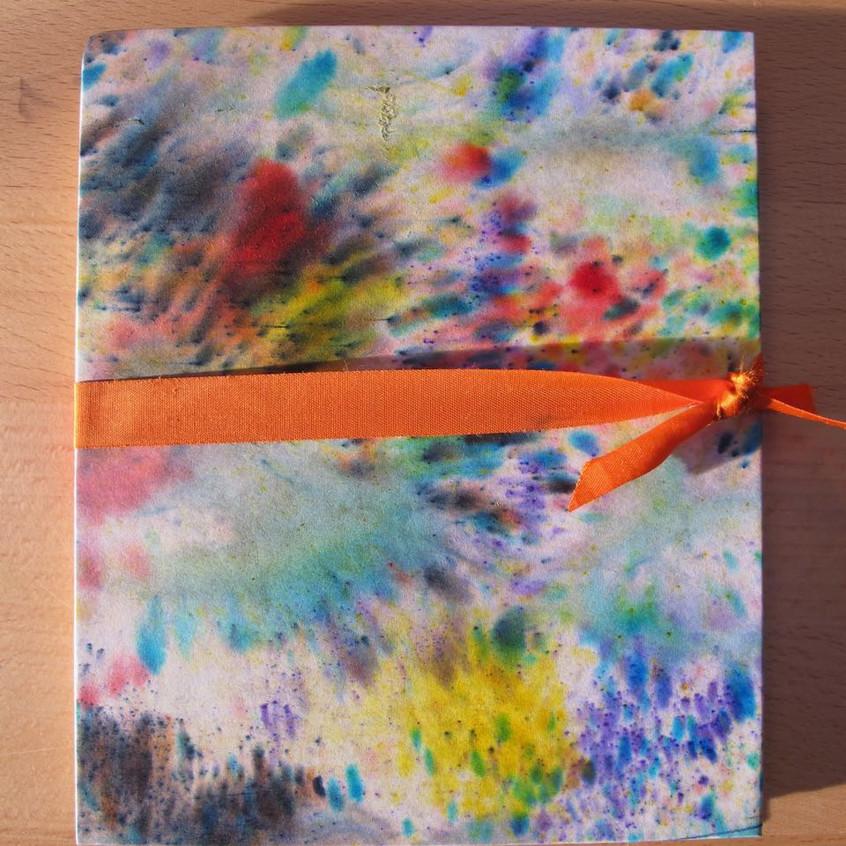 M brusho workshop sample book cover