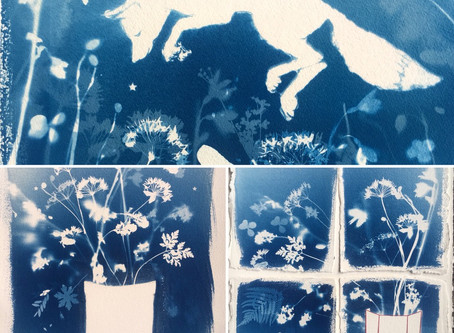 Cyanotype workshop with Kim Tillyer, Thursday 24 May