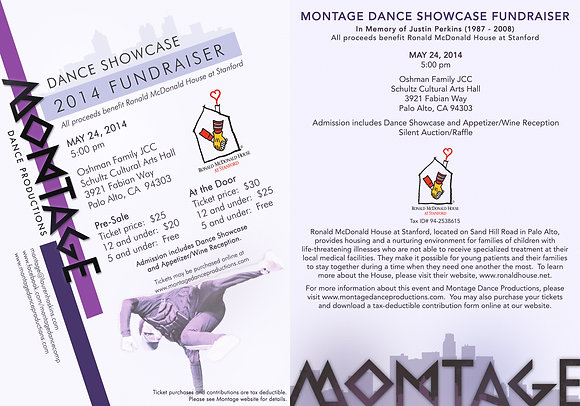 Montage FUNDRAISER May 24th - 5pm Adult Tickets