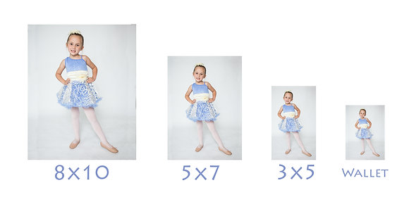 1 - 8x10 Individual or Group