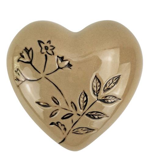 Aubrey Floral Heart