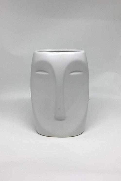 Aztec Face Vase
