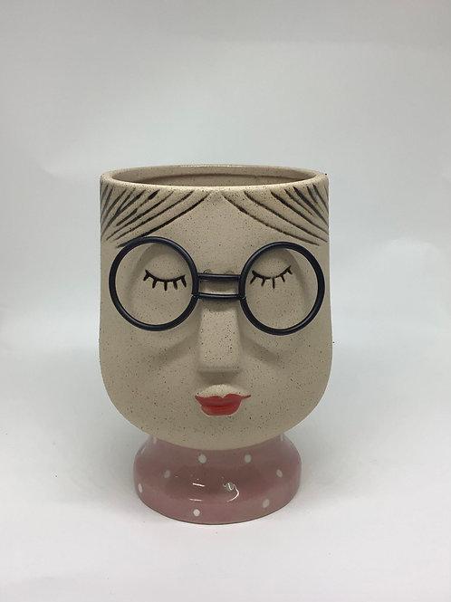 Girl Planter Pot