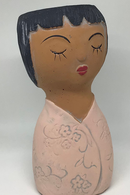 Oriental Girl Planter