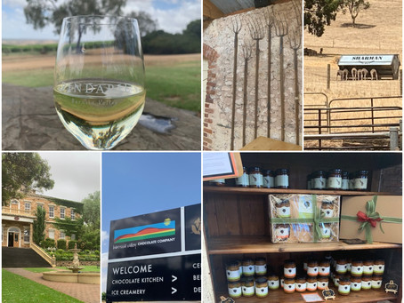 Explore the gorgeous Barossa Valley for the day.