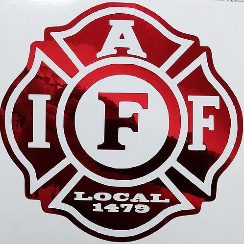 IAFF Local 1479 Decal