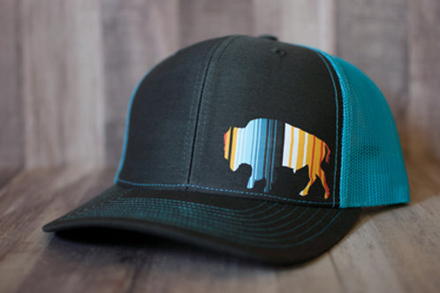 Serape Buffalo Hat