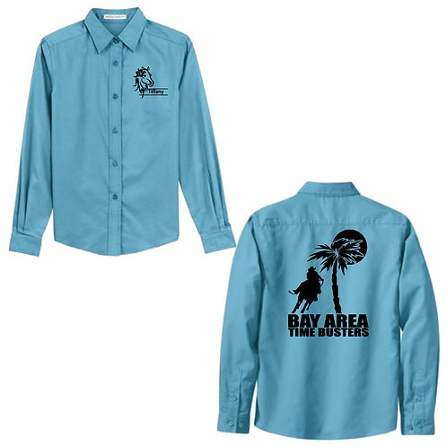 Bay Area Time Busters Ladies Button Up