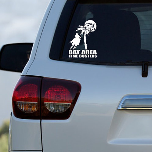 Bay Area Time Busters Decal