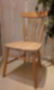 Neptune wardley natural Oak chair