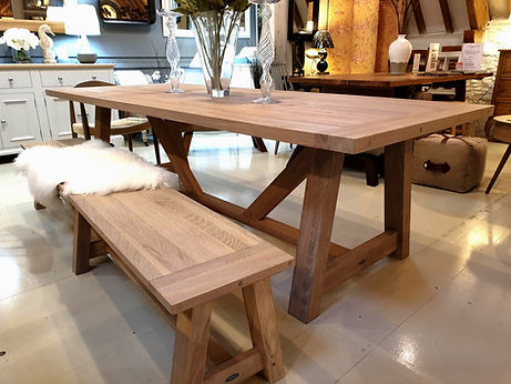 Neptune Arundel Oak Table in Natural Oak finish