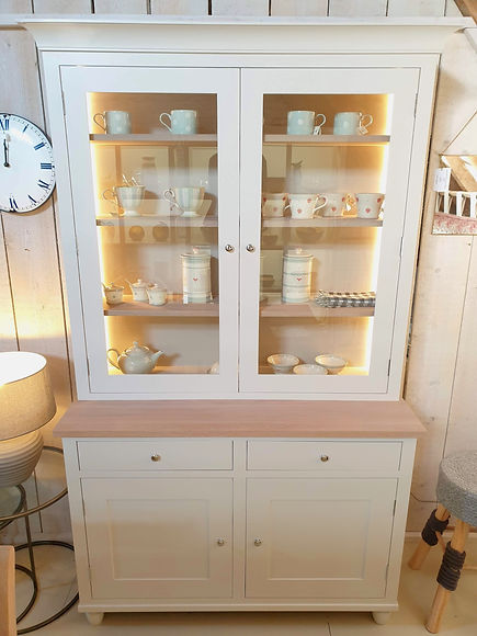 Neptune Suffolk 4' Glazed Rack Dresser