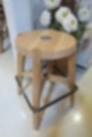 Italian designed Oak stool