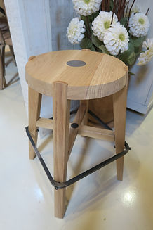 Italian designed Oak stool