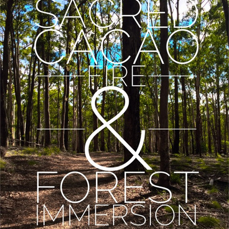 SACRED CACAO FIRE & FOREST IMMERSION