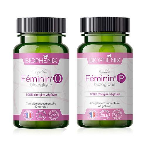 Équilibre Féminin Duo Bio - Pack : équilibre hormonal de la femme