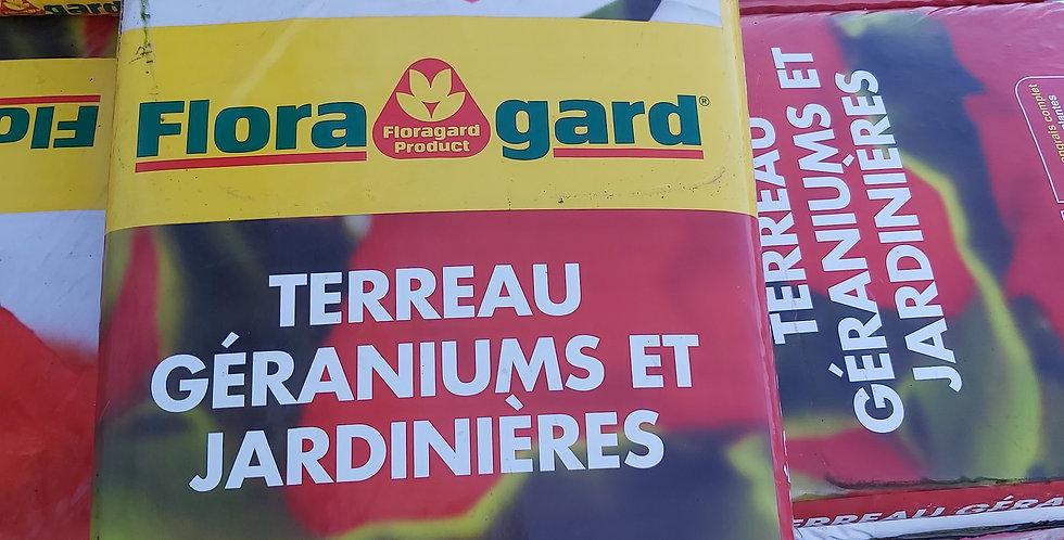 Terreau géranium 40 litres