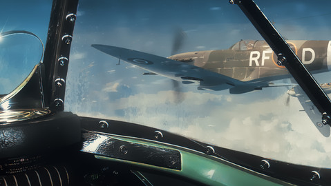 Concept art - Flying in formation.