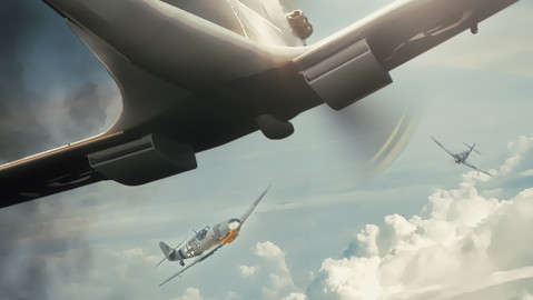 Concept art -Taking on the Luftwaffe.