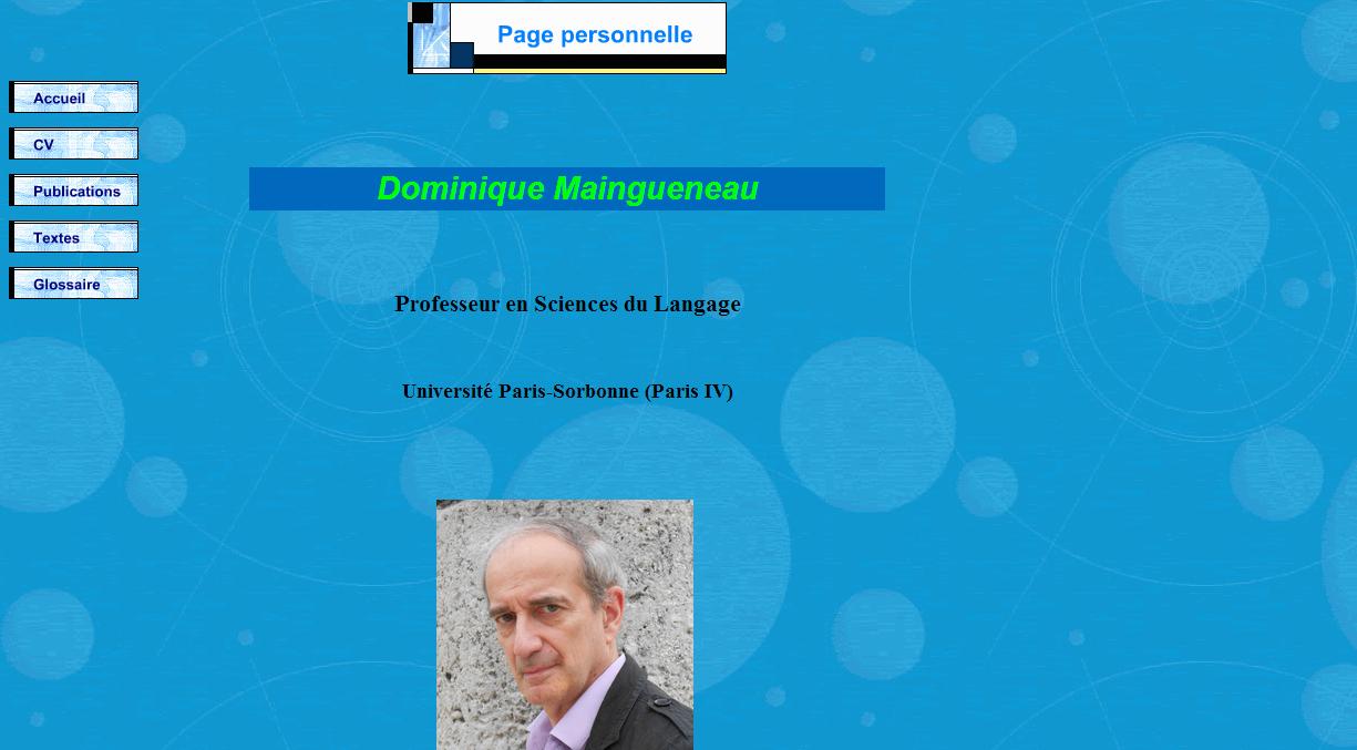 Dominique Maingueneau