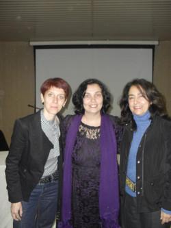 Bénédicte, Luciane e Renata