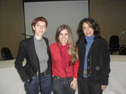 Bénédicte, Nicole e Renata