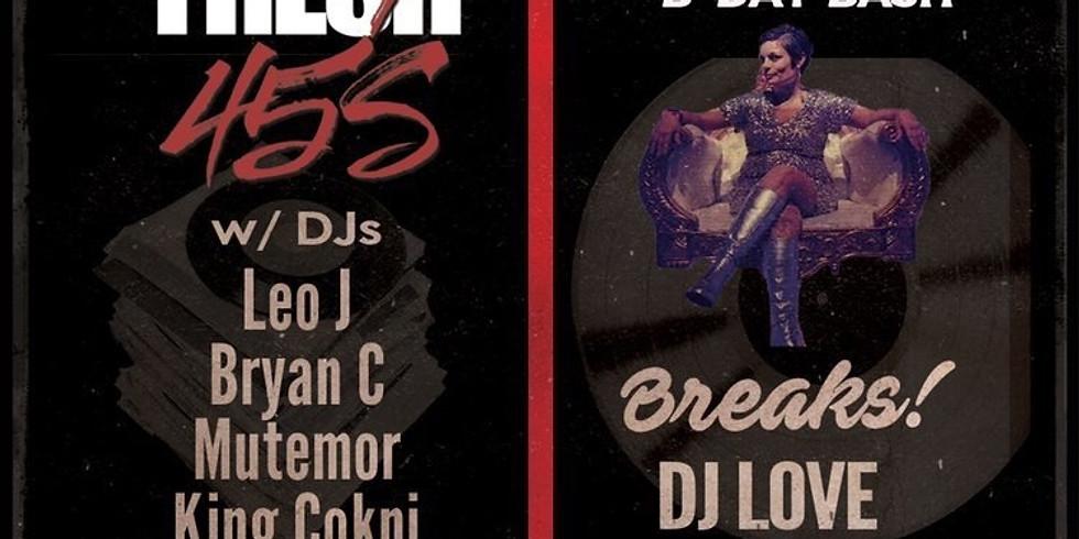 Fresh 45's x Breaks DJ Love (Lisa Stroup's Birthday)