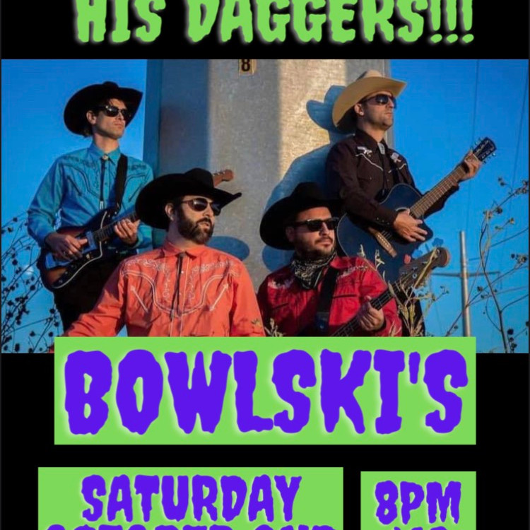 John Falvo & His Daggers on the Bowlskis main stage