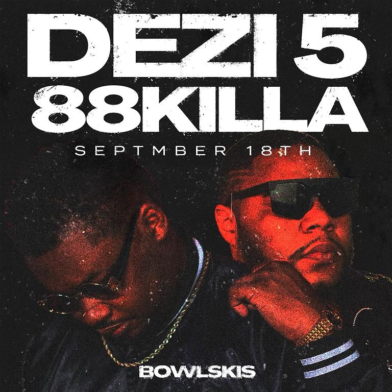 Dezi 5 & 88 Killa on the Bowlskis main stage