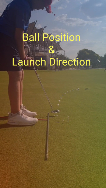 Ball Position & Launch Direction Video
