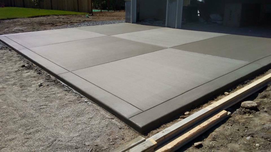 concrete cement