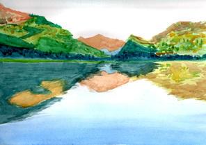 Lake in Snowdonia