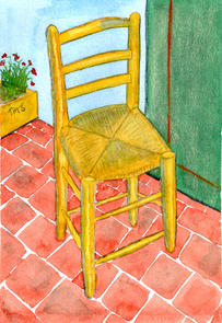 After Van Gogh - Chair