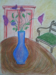 Chair and Flowers