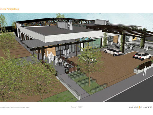 Oaxaca Interests Begins Construction on Creative Dining and Retail Space in West Dallas