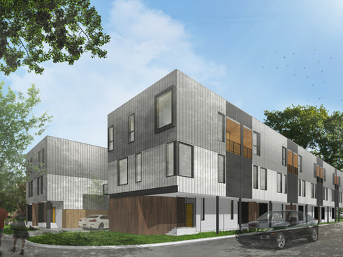 Oaxaca Interests Building 16-Unit Contemporary Townhome Development in West Dallas