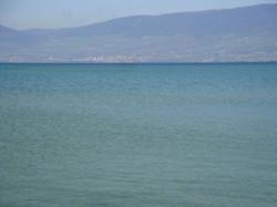 Le lac, 15 min. à pied